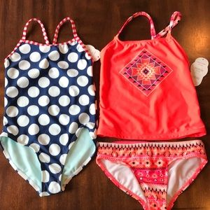 Other - Size 4/5 or Girls XS bathing suit bundle